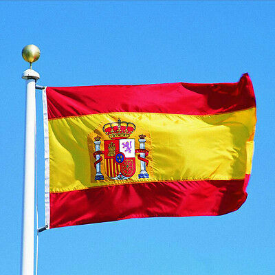 Large 3x5 Ft Polyester Spanish Country Flag The Spain National Flags Banner New