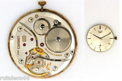 LONGINES 490 original watch movement working (3269)