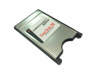 Sandisk CF Compact Flash Card adaptor CF Card to PCMCIA PC Adapter