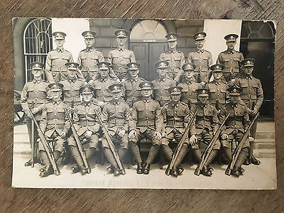 Royal Engineers Group Photo, RE Museum Chatham RP Postcard  Ref021