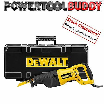 DeWalt DW311K Reciprocating Saw Orbital Action NOT DWE304PK or DWE305PK- 240v