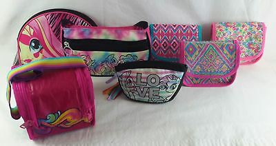 Wholesale Resale Lot of 26 Assorted Brand New Young Girl purses handbags