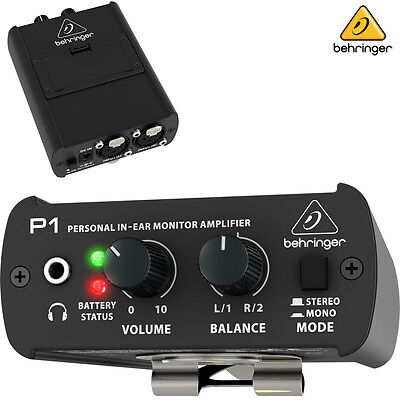 Behringer POWERPLAY P1 Personal In Ear Monitor Amplifier NEW l Authorized Dealer