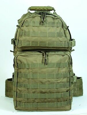 New Authentic Voodoo Tactical New Enhanced 3Day Assault Pack Coyote 15-817107000