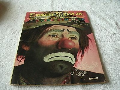 EXTREMLY RARE Emmett Kelly Jr. The Clown Prince of Pantomime  BOOK