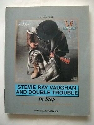 Stevie Ray Vaughan In Step Japan Band Score Tab