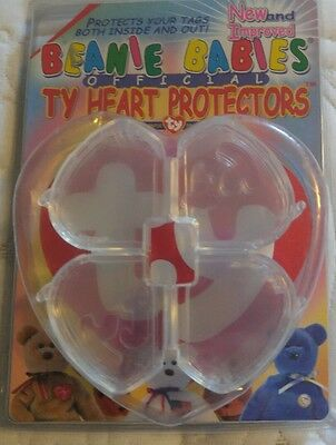Beanie babies Official TY Heart Protectors (9 protectors)