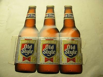 Old Style Beer Bottle Promo  1995