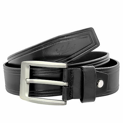 Falari Men's Genuine Leather Belt Jeans Belt 9003