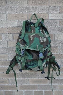 US Army MOLLE II Patrol Pack Woodland Camo