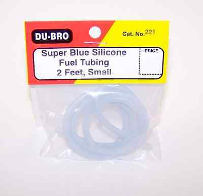 Fuel Tube: Small Dubro Blue Silicone 2ft (60cm)