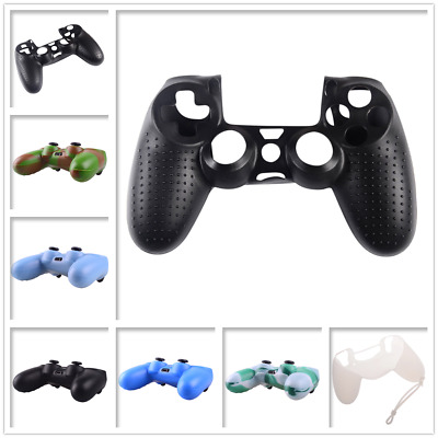 Soft Silicone Case Gel Skin Grip Cover Sleeve for Dualshock 4 PS4 Controller