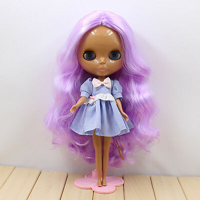 """12/"""" Neo Blythe Doll Long Hair Nude Doll from Factory JSW32004+Gift"""