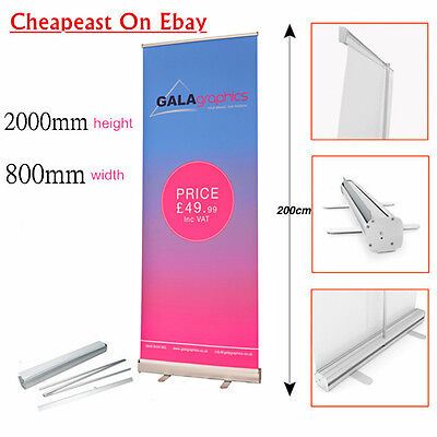 NewRoller Banner Display Stand - Pop / Pull / Roll Up Sign Exhibition Trade Show