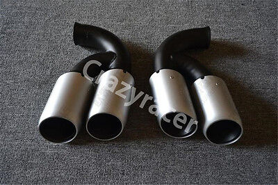 Tail Exhaust Tips Muffler Pipe For Porsche Cayenne V8 11-14