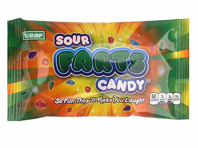 """Sour Farts Tasty Candy Nuggets, """"So fun, they'll make you laugh!""""Sour & Sweet"""