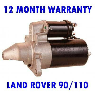 Starter Motor replaces Lucas LRS574 for LAND ROVER Defender 90 110 2.5 FX4S TAXI