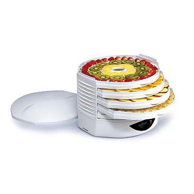 NEW NutriChef PKFD1 Food Dehydrator - Electric Kitchen Dehydrator White or Black