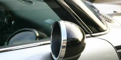 Mini Cooper Premium New Chrome Door Wing Mirror Ring Trims Surrounds R50 R52 R53