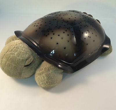 Cloud B Twilight Turtle #77 Constellation Projecting Light Amber Blue Green