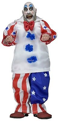 """House of 1000 Corpses - 8"""" Retro Style Clothed Figure - Captain Spaulding - NECA"""