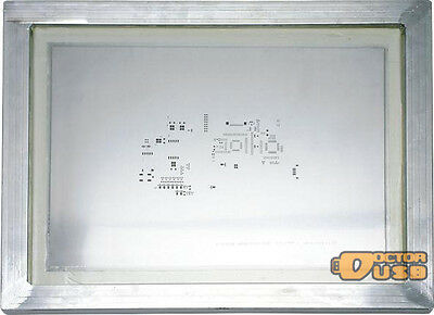 PCB SMT Solder Stencil manufacturing stencil steel with aluminum frame