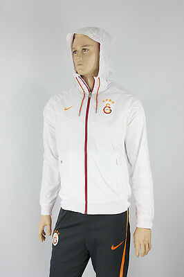 Windrunner Galatasaray Training Jacket Blanc 2016 17 Poches avec zip