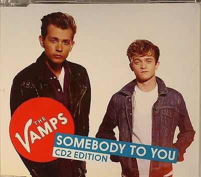 The Vamps - Somebody To You (2) NEW CD SINGLE