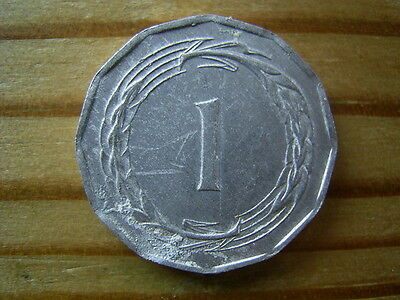 1963  Cyprus 1 Mil Coin Collectable