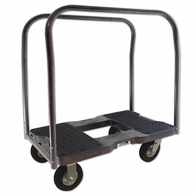 Snap-Loc Air-Ride Panel Cart Dolly Black SL1500PC6AB