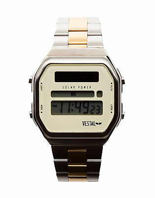Vestal Syncratic Watch Silver-Gold/Silver