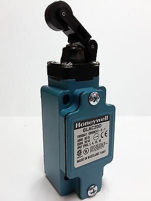 Honeywell GLAC20D Limit Switch 6A 600V 2NO/2NC Metal Body Head Roller Plunger
