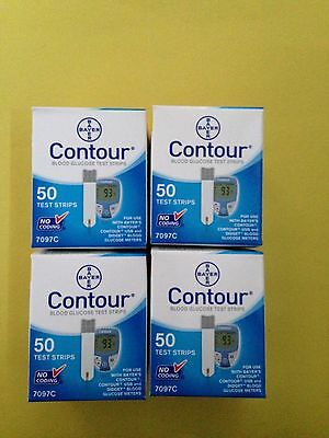 Bayer Contour Blood Glucose 200 Test Strips Expiration Date 03/2018