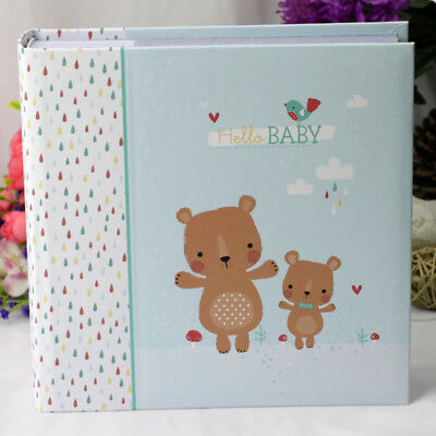 Baby Boy Photo Album - Forest Friends | Newborn | Baby Shower | Keepsake