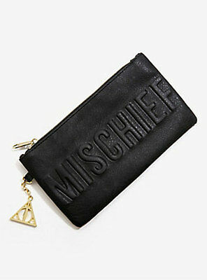 Harry Potter : MISCHIEF MANAGED DEBOSSED CLUTCH PURSE from BioWorld