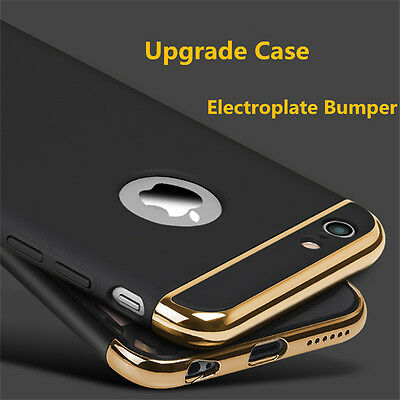 NEW Luxury Shockproof Armor Hard Back Case Cover For Apple iPhone 5S 6 6S Plus