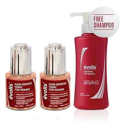Evolis For Women 3 Month Supply for hair loss with NEW formulation
