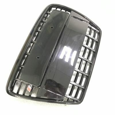 S6 Style Full Black Front Grille Grill for Audi A6 C6 S6 2005-2011