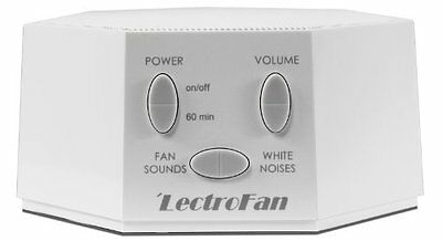 NEW LectroFan  White Noise Machine with 10 Fan and 10 White Noise Sounds White