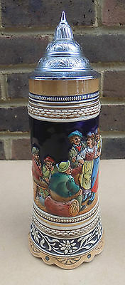 Vintage German Muscial Beer Stein with Thorens Movement