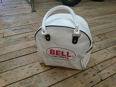 Bell Custom 500 Replacement Leather Helmet Bag White
