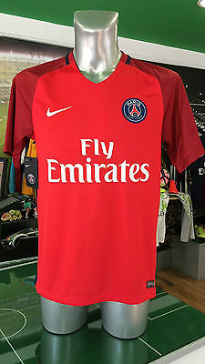 Maglia Calcio Shirt Jersey Football Psg Paris St Germain Nike Away Red 2016/2017