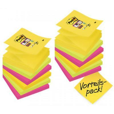 Post-it Haftnotizen Super Sticky Z-Notes, 76 x 76 mm, Rio (0051141998473)