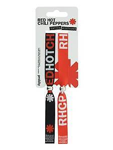 2 Red Hot Chilli Peppers Festival Woven Fabric Wristbands Bracelets Official