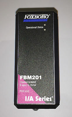 Foxboro Invensys FBM201 8 Channel, Analog Input, 0-20mA, isolated