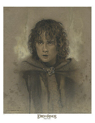 Pippin Took /  Lord of the Rings paper giclee by Jerry VanderStelt