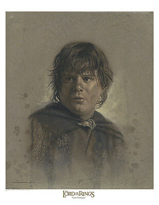 Samwise Gamgee /  Lord of the Rings paper giclee by Jerry VanderStelt