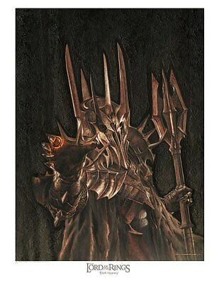 SAURON - THE LORD OF THE RINGS lithograph by Jerry VanderStelt