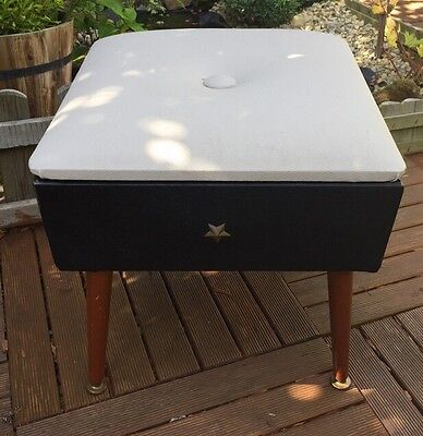 Fabulous Vintage Sherborne Stool With Flip Top