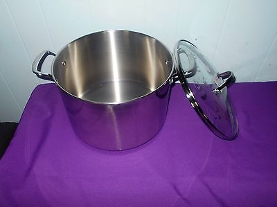 Princess House Stainless Steel Heritage Classic 14 Qt. Dutch Oven #6796 NIB